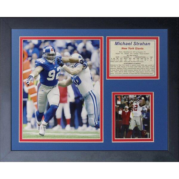 Michael Strahan Framed Memorabilia by Legends Never Die