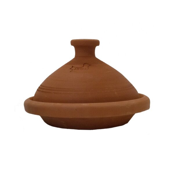 Round Tagine with Lid by Casablanca Market