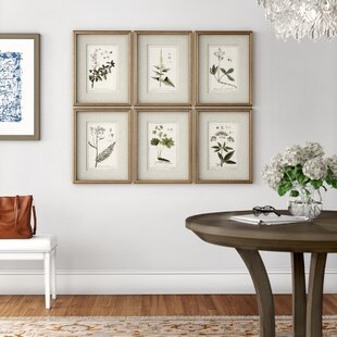 Set of 4 Decorative Printed Wall Art Panels Tropical New York or Floral