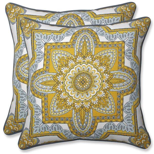 Zerangue Indoor/Outdoor Throw Pillow (Set of 2)