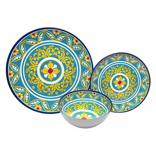Malupo Melamine 12 Piece Dinnerware Set by Bloomsbury Market