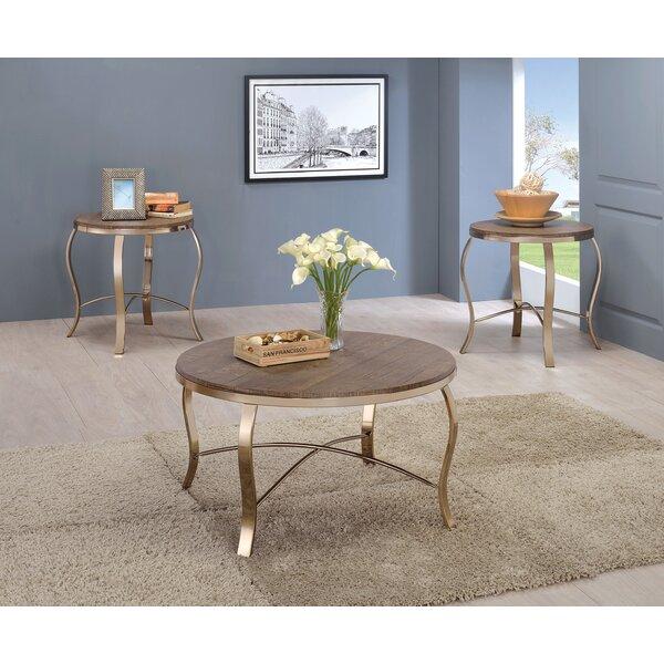 Kallie 3 Piece Coffee Table Set by Willa Arlo Interiors Willa Arlo Interiors