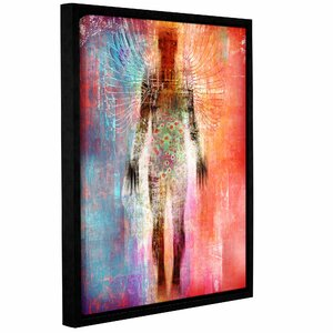 Wonder I Framed Graphic Art on Wrapped Canvas by Latitude Run
