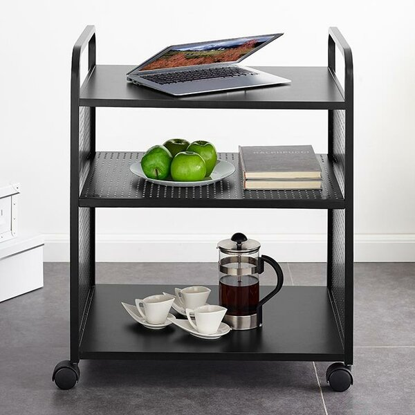 Aubrie Multifunctional Bar Cart by Novogratz Novogratz