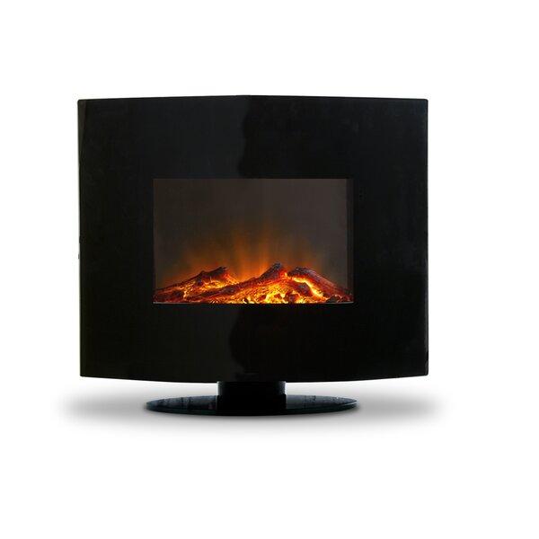 Monico Wall Mounted Electric Fireplace By Orren Ellis