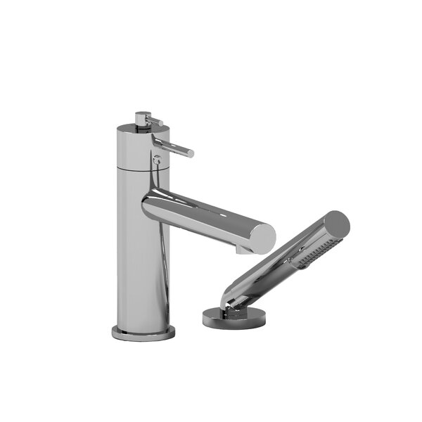 GS Double Handle Deck Mounted Roman Tub Faucet By Riobel