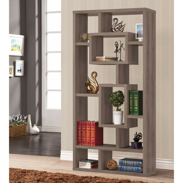 Mccane Geometric Rectangular Cube Unit Bookcase by Ivy Bronx
