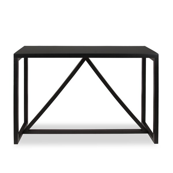 Review Sievers Wood Console Table