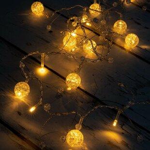 Kathleen LED Colorful Globe Balls String Fairy Light 10 Light Novelty  String Lights