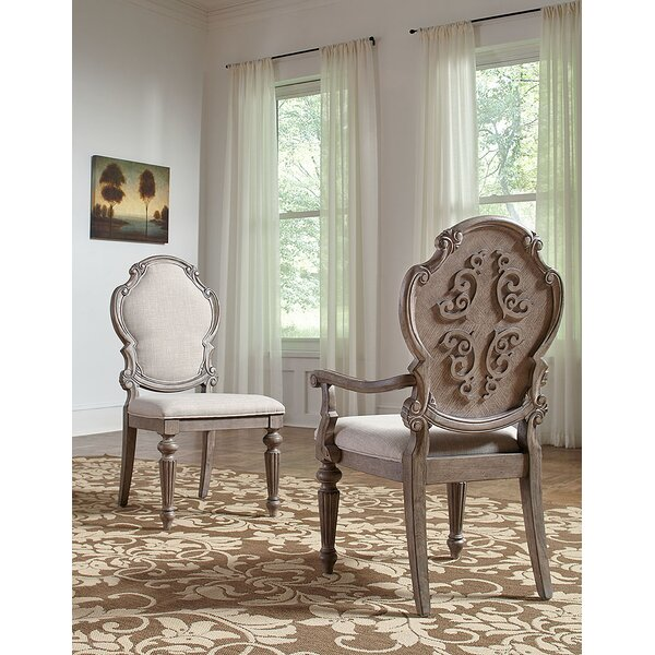 Braddy Upholstered Dining Chair (Set of 2) by Astoria Grand