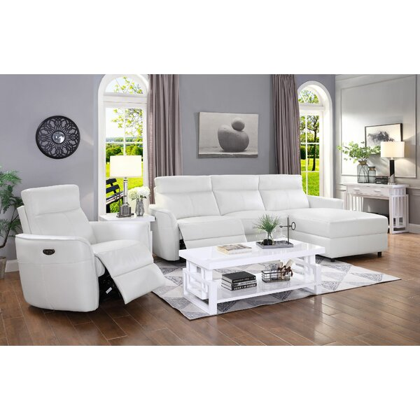 Review Treadwell 2 Piece Reclining Living Room Set