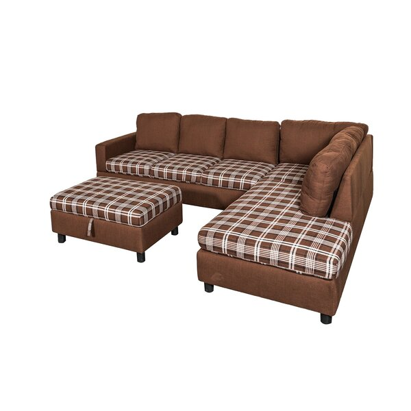 Dashing Collection Richview Sectional with Ottoman by Charlton Home by Charlton Home