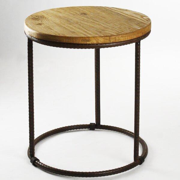 Rustique End Table by Zentique