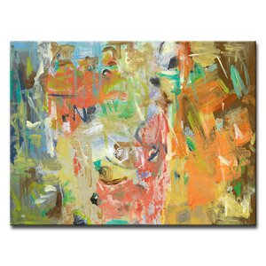 'Life in Color' Oil Painting Print on Canvas by Zipcode Design