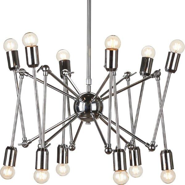 Newport Spider Sputnik Chandelier by Corrigan Studio