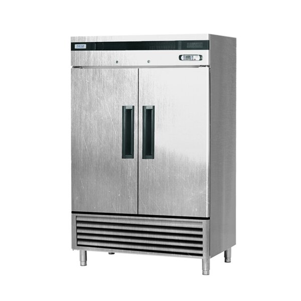 Commercial 2-Door Standing 45.99 cu. ft. Upright Freezer by EQ Kitchen Line