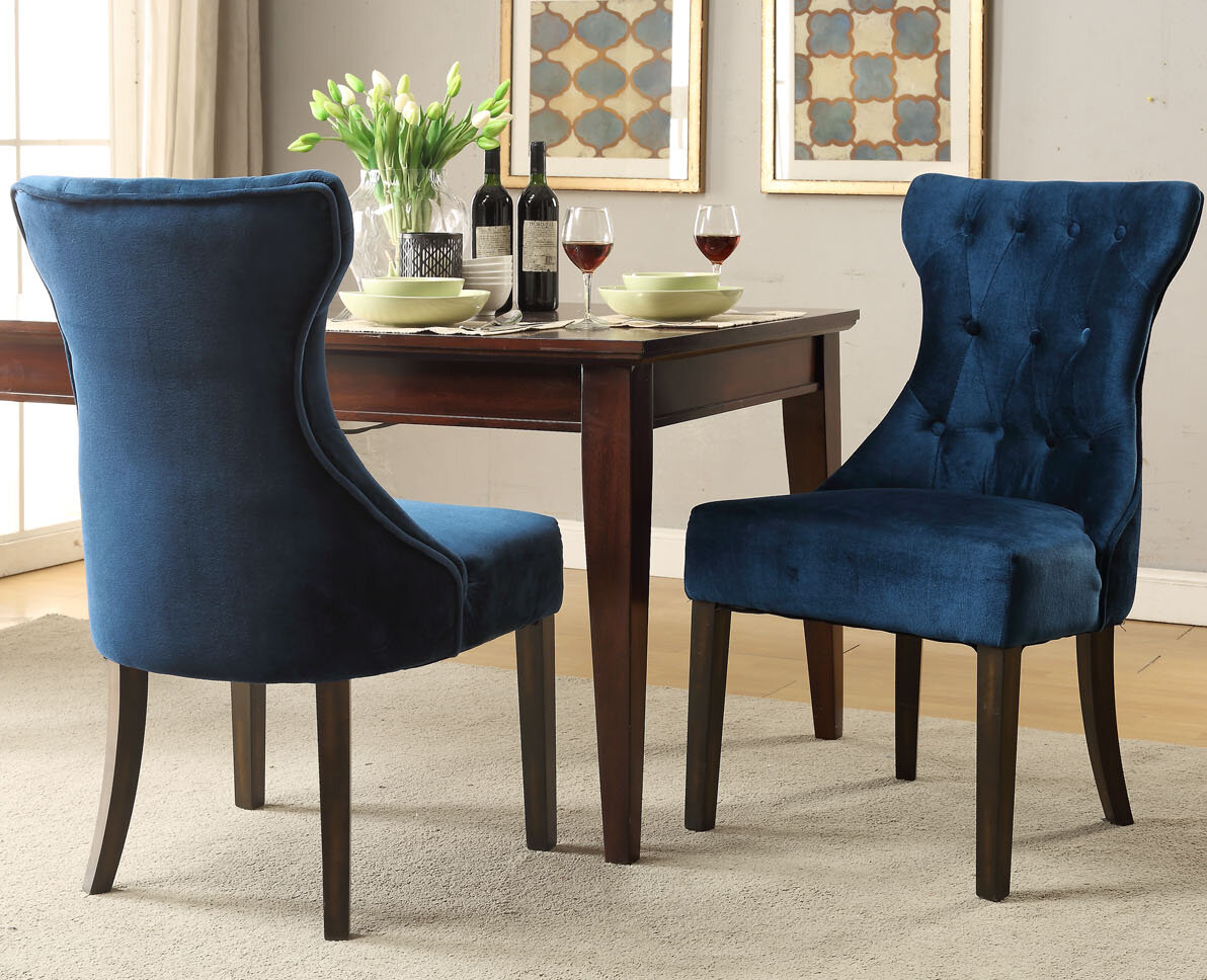 Darby Home Co Delfin Upholstered Dining