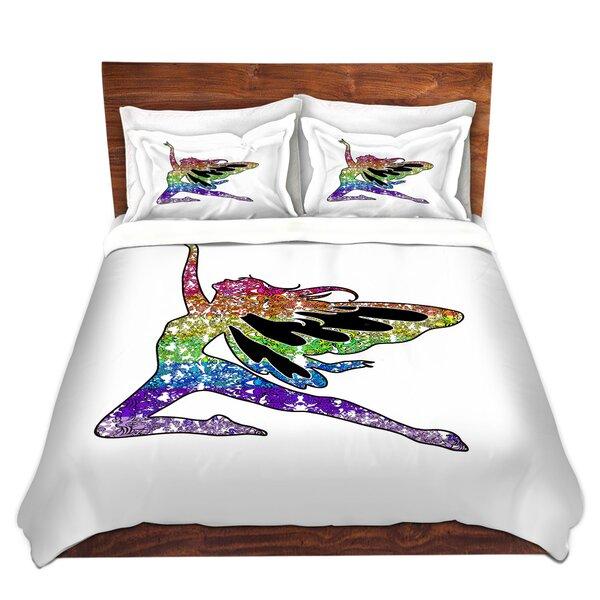Fairy Come Fly Rainbow Duvet Cover Set