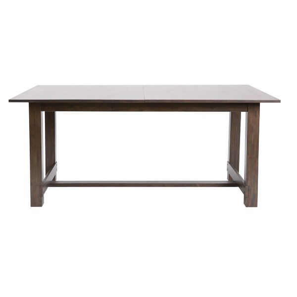 Slagelse Extendable Solid Wood Dining Table by Red Barrel Studio Red Barrel Studio