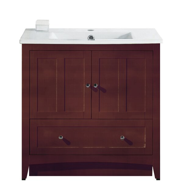 Artic Modern 36 Single Bathroom Vanity Set by Longshore Tides