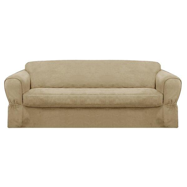 Bearup Barras Box Cushion Sofa Slipcover by Darby Home Co