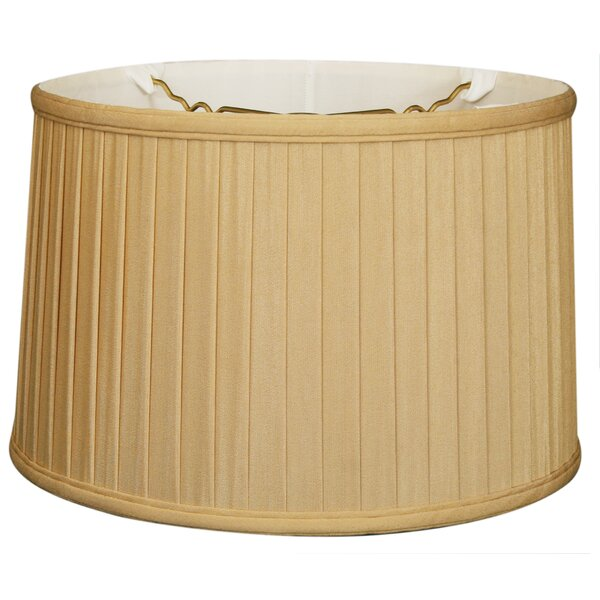 Timeless 14 Silk Drum Lamp Shade by Royal Designs