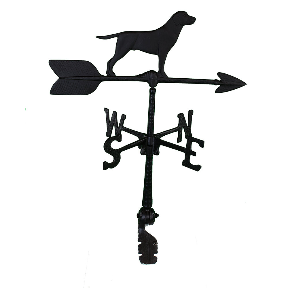 Montague Metal Products Curtis Retriever Weathervane Reviews Wayfair