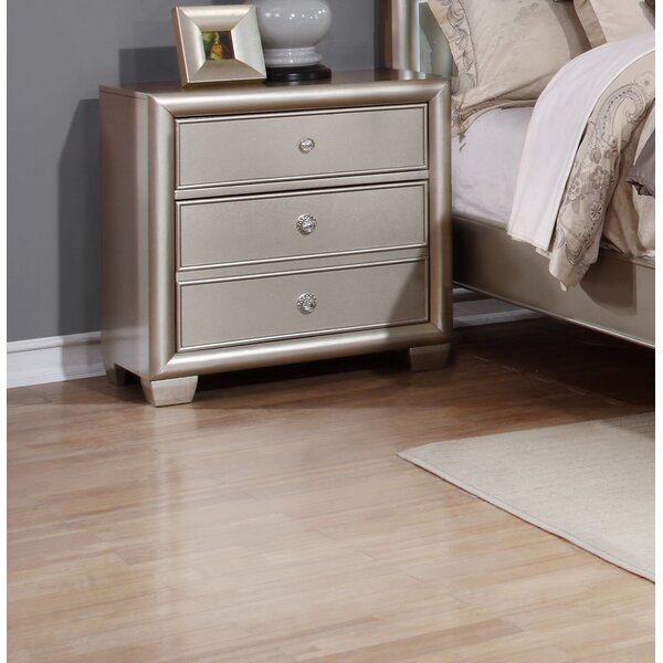 Chumley 2 Drawer Nightstand by House of Hampton