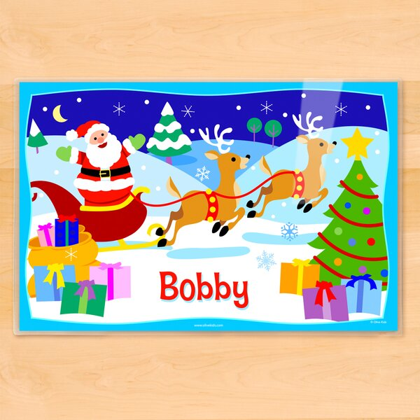Christmas Personalized Placemat by Olive Kids