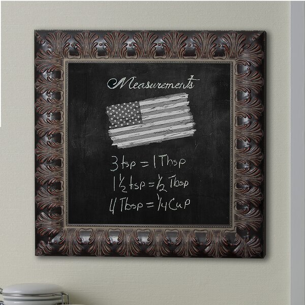 Feathered Accent Wall Mounted Chalkboard by Rayne Mirrors