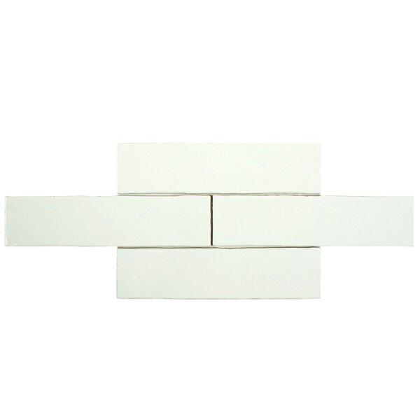 Tivoli 3 x 12 Ceramic Field Tile in Bianco by EliteTile