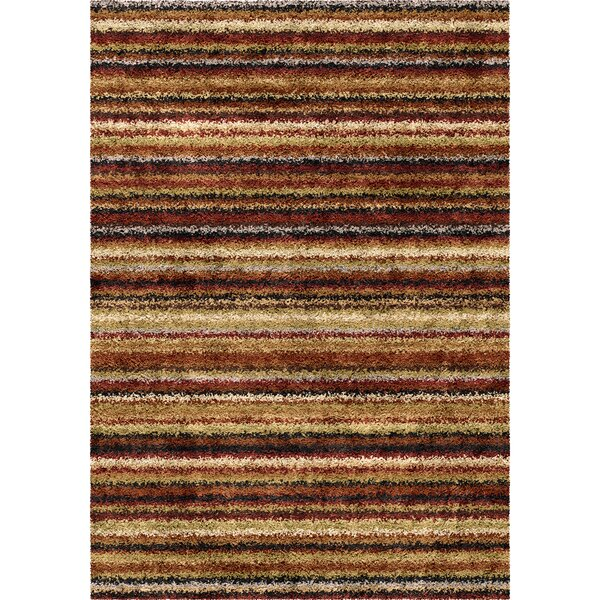 Kirkland Brown Area Rug by Threadbind