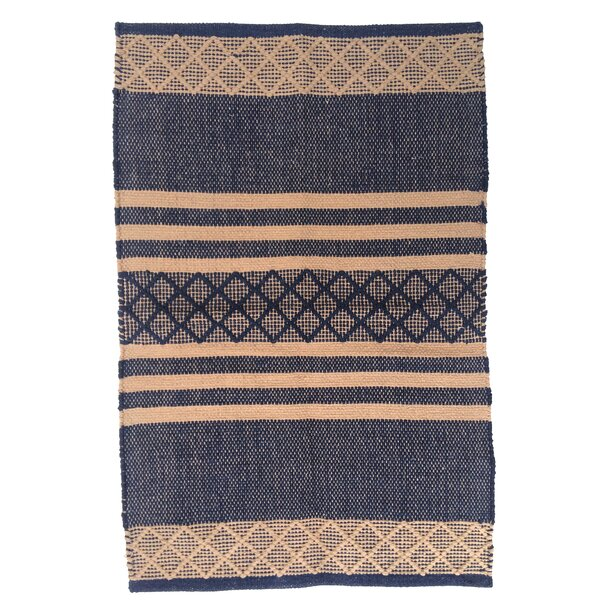 Atlas Navy/Tan Area Rug by Artim Home Textile