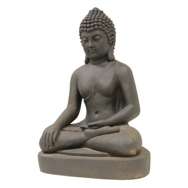 Seated Buddha Statue by Hi-Line Gift Ltd.