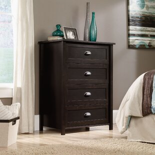 Best Reviews Geraldine 4 Drawer Chest by Andover Mills