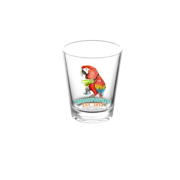 Margaritaville 16 oz. Plastic Cocktail Glasses (Set of 6) by Margaritaville