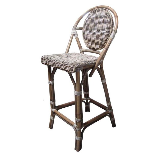 Paris Bistro Patio Bar Stool by Padmas Plantation