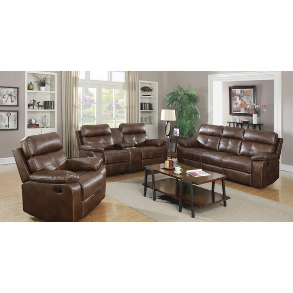 Amidon Motion 3 Piece Reclining Living Room Set By Canora Grey