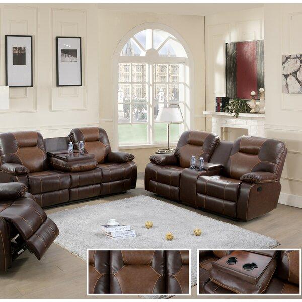 Rueter 2 Piece Reclining Living Room Set by Red Barrel Studio