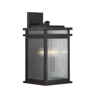 Read Reviews Lanclos 2-Light Outdoor Wall Lantern By Brayden Studio