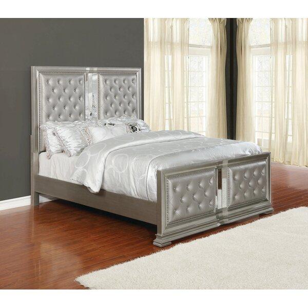 Shaniya Upholstered Standard Bed by Rosdorf Park