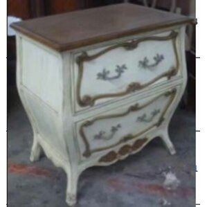 Normandy Bombe 2 Drawer Nightstand by French Heritage