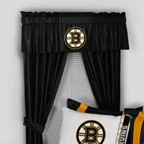 NHL Boston Bruins 88 Curtain Valance by Sports Coverage Inc.