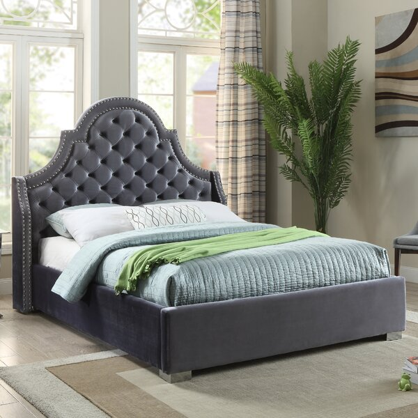 Renee Upholstered Platform Bed by Everly Quinn