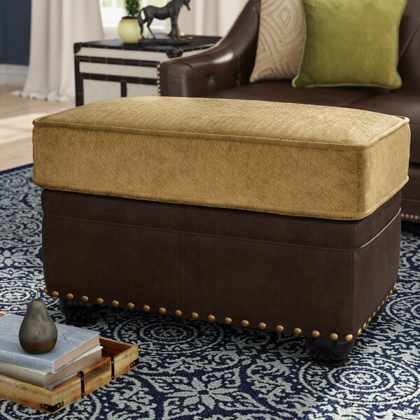Simmons Upholstery Aurora Ottoman by Darby Home Co
