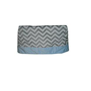 Best Deals Minky Chevron Crib Skirt ByBaby Doll Bedding