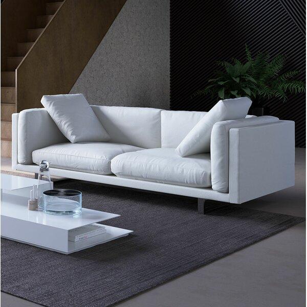 Fulton Top Grain Leather Sofa by Modloft