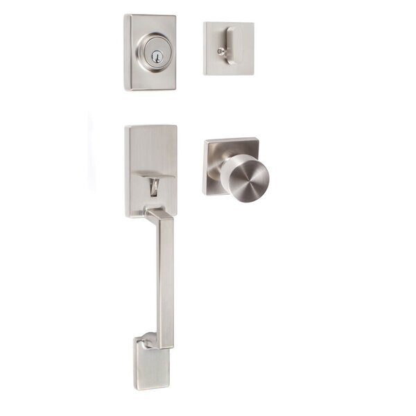 Modern Series Single Cylinder Entrance Handleset by Sure-Loc Hardware