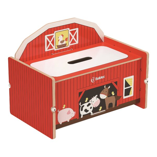 Nathaniel Play Storage Bench by Zoomie Kids
