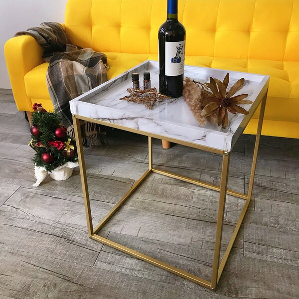 Burkey Tray Top End Table With Storage By Mercer41